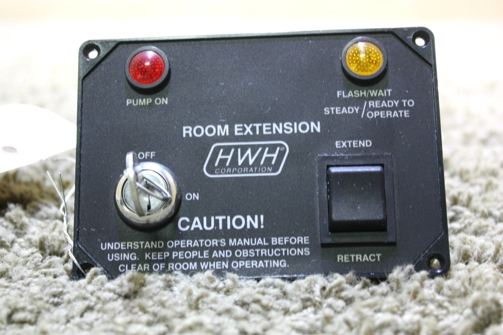 USED HWH ROOM EXTENSION CONTROL PANEL MOTORHOME PARTS FOR SALE