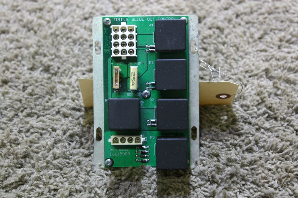 USED RV KIB TRIPLE SLIDE OUT CONTROL BOARD 16615988 FOR SALE