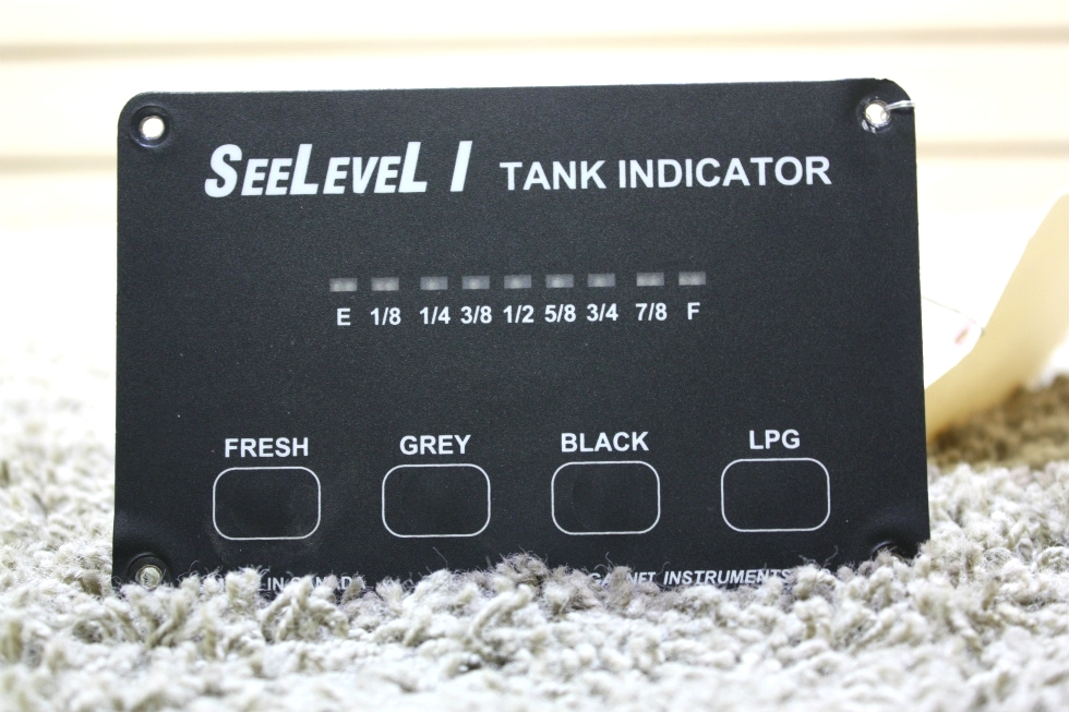 USED RV SEELEVEL I 707-02671 TANK MONITOR PANEL FOR SALE