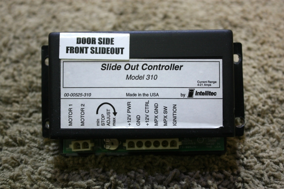 USED RV SLIDE OUT CONTROLLER MODEL 310 BY INTELLITEC 00-00525-310 FOR SALE