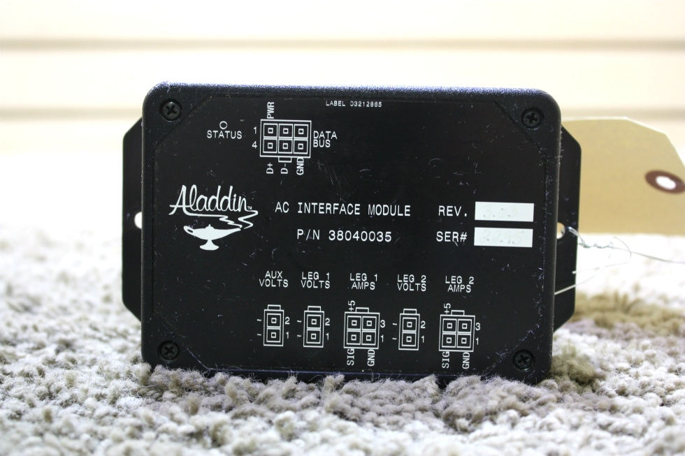 USED ALADDIN AC INTERFACE MODULE 38040035 RV PARTS FOR SALE