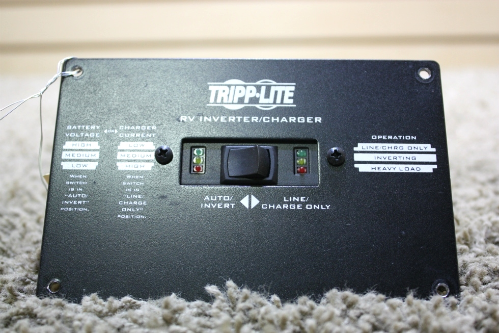 USED TRIPP-LITE RV INVERTER CHARGER REMOTE MOTORHOME PARTS FOR SALE