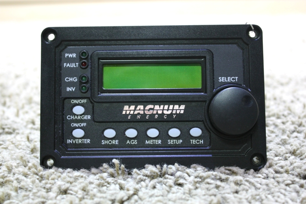 USED MAGNUM ENERGY INVERTER REMOTE RV PARTS FOR SALE