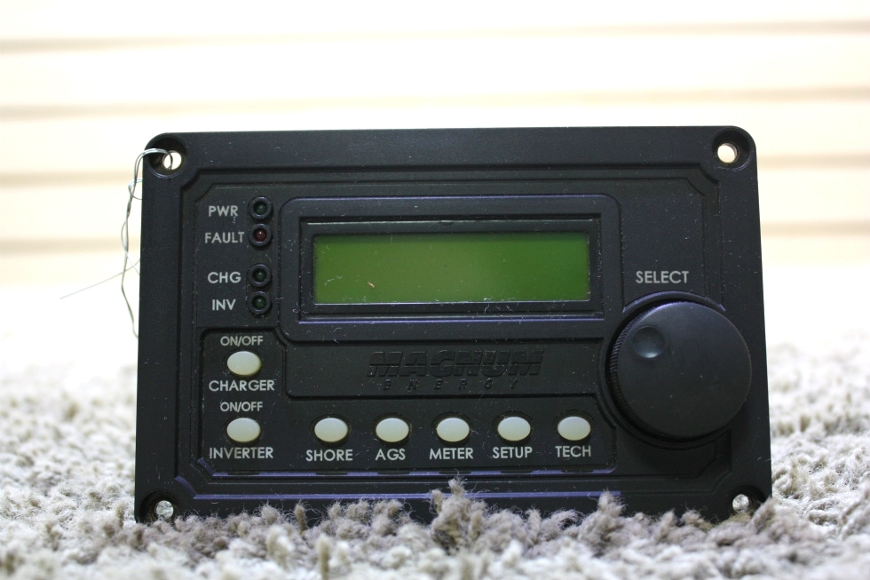 USED RV MAGNUM ENERGY REMOTE FOR SALE