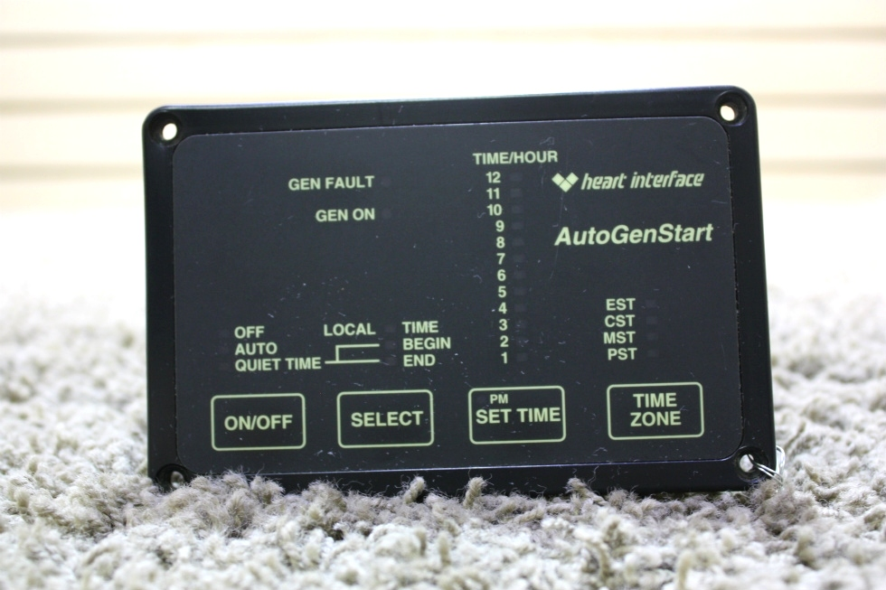 USED HEART INTERFACE AUTOGENSTART 84-2057-02 RV PARTS FOR SALE