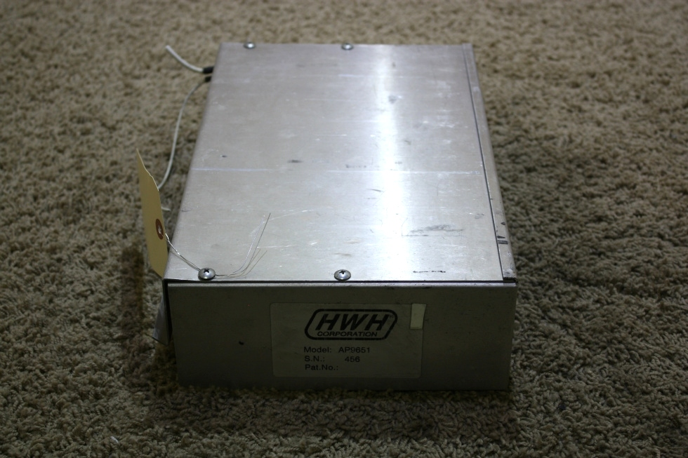 USED MOTORHOME HWH LEVELING CONTROL BOX AP9651 FOR SALE