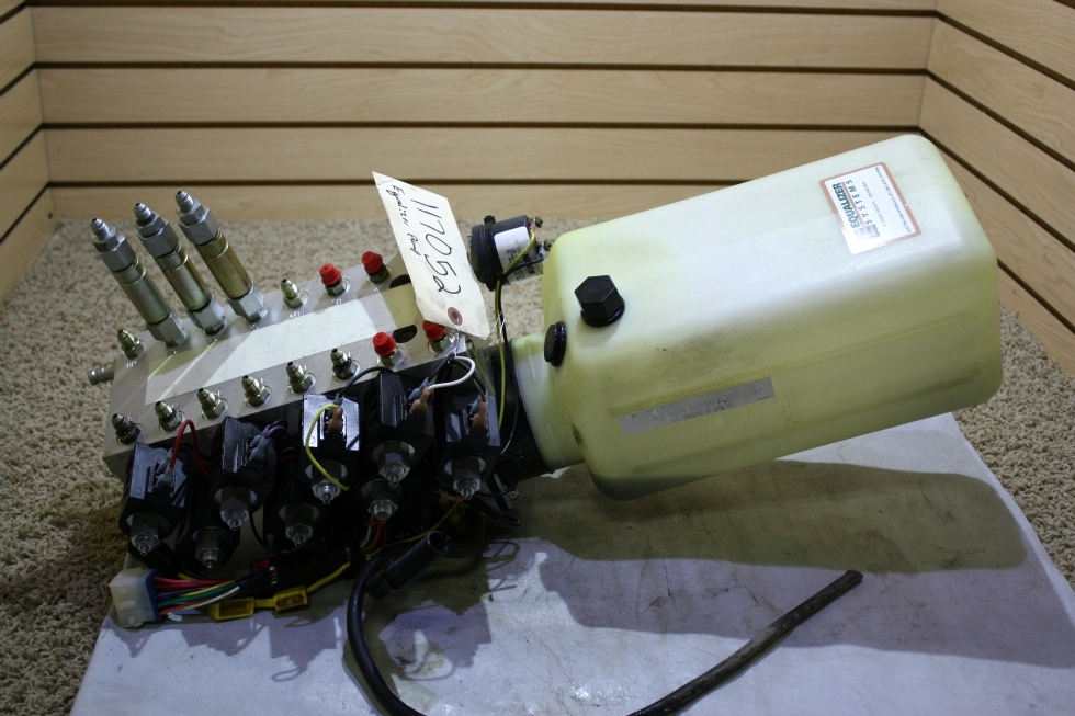 USED RV EQUALIZER SYSTEMS S103T*5076 HYDRAULIC PUMP FOR SALE