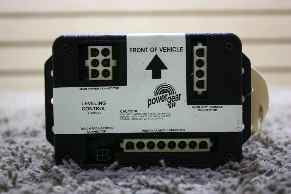 USED POWER GEAR LEVELING CONTROL BOARD 500630 RV PARTS FOR SALE