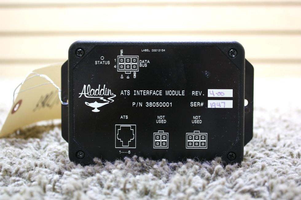 USED RV ALADDIN ATS INTERFACE MODULE 38050001 FOR SALE
