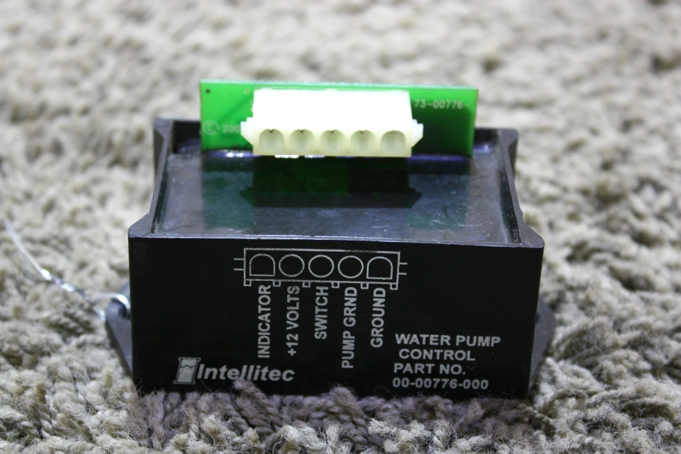 USED MOTORHOME INTELLITEC WATER PUMP CONTROL 00-00776-000 FOR SALE
