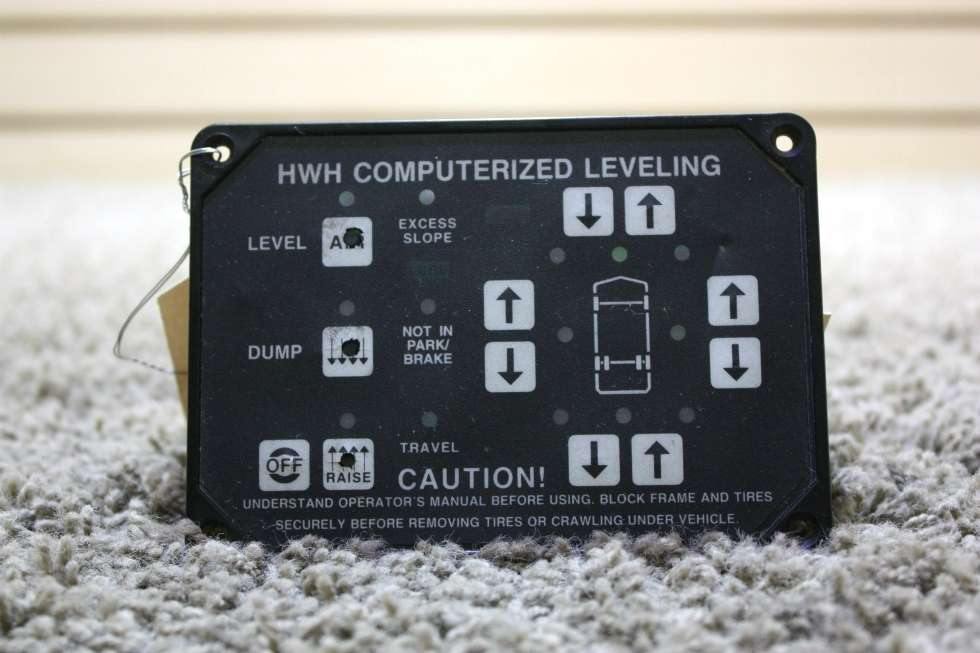 USED RV HWH COMPUTERIZED LEVELING AP8444 TOUCH PAD FOR SALE