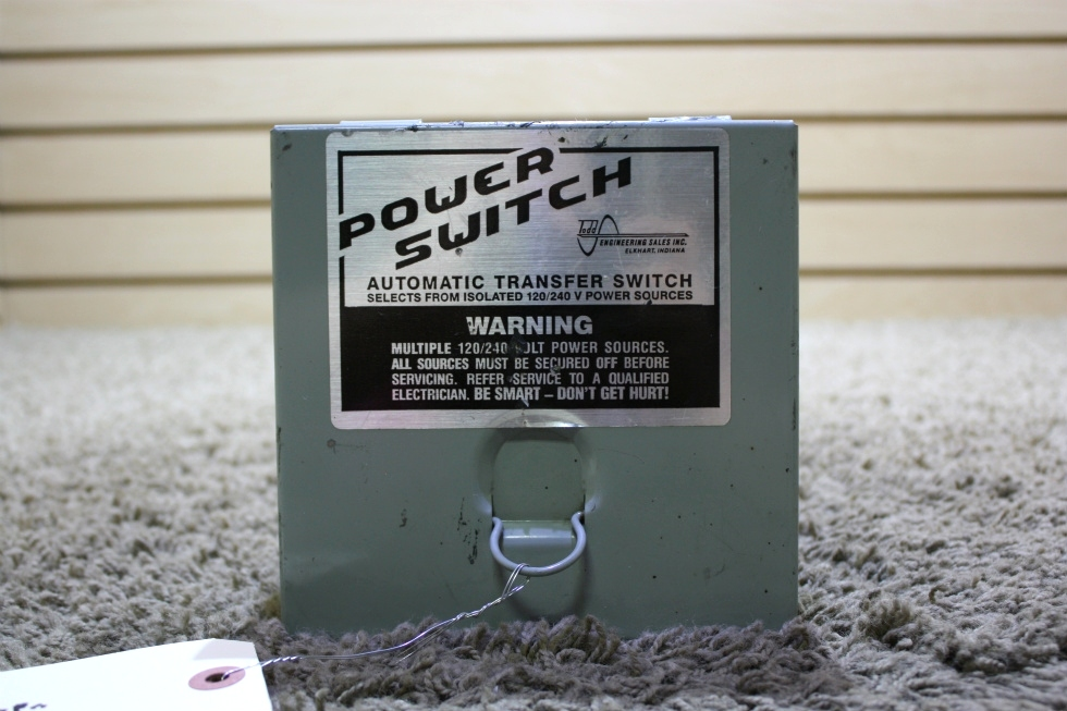 USED POWER SWITCH TS-30 AUTOMATIC TRANSFER SWITCH RV PARTS FOR SALE