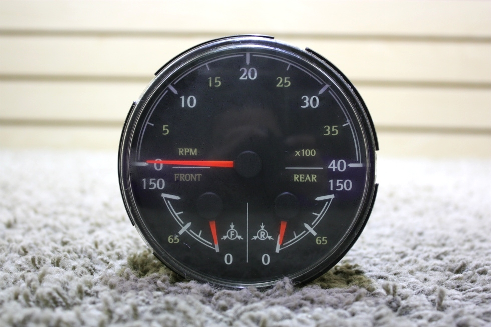 USED RV MEDALLION 8640-40015-29 3 IN 1 TACHOMETER FOR SALE