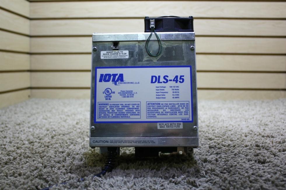 USED RV 45 AMP IOTA POWER CONVERTER DLS-45 FOR SALE
