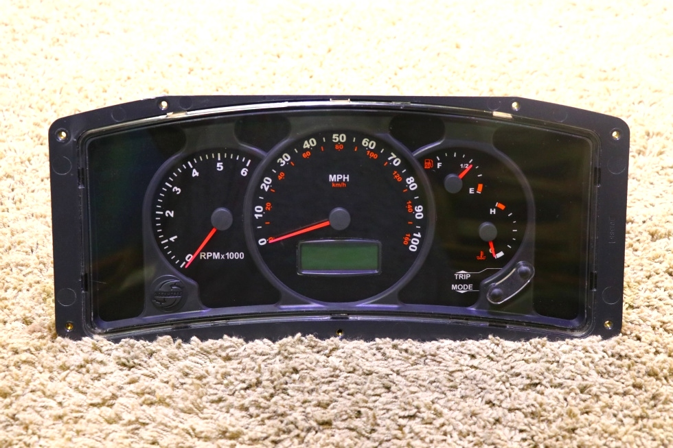 USED MOTORHOME WORKHORSE W0004987 DASH CLUSTER FOR SALE
