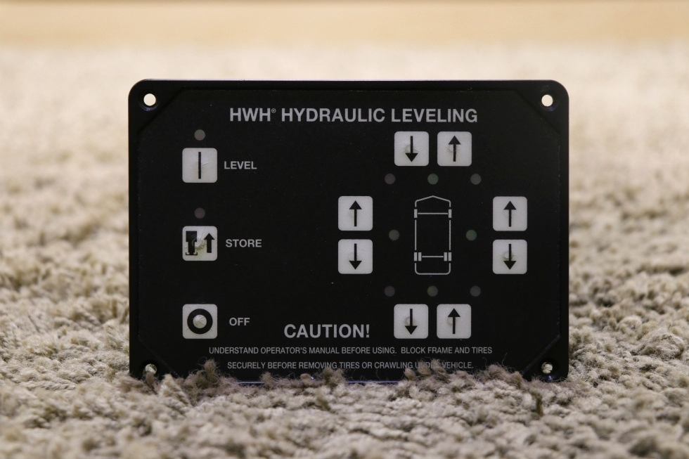 USED MOTORHOME HWH AP29691 HYDRAULIC LEVELING TOUCH PAD FOR SALE