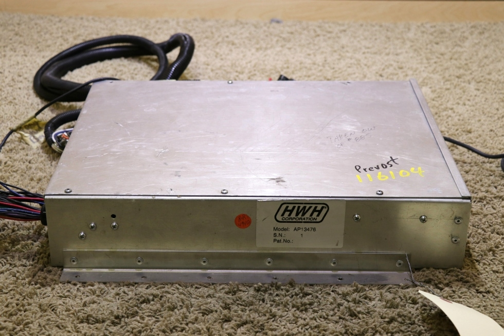 USED HWH AP13476 LEVELING CONTROL BOX WITH LEVELING SENSOR FOR SALE