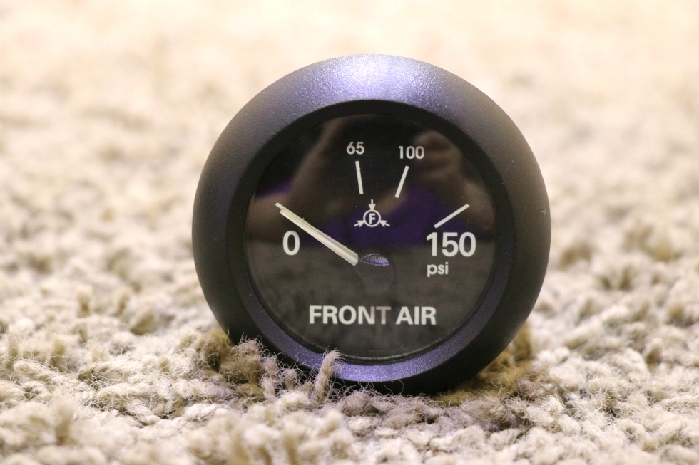 USED MOTORHOME 0-150PSI FRONT AIR DASH GAUGE 6913-00159-11 FOR SALE