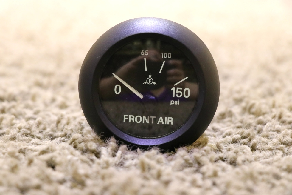 USED 6913-00159-11 RV 0-150PSI FRONT AIR PRESSURE DASH GAUGE FOR SALE
