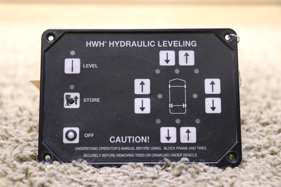 USED HWH HYDRAULIC LEVELING AP29691 TOUCH PAD RV PARTS FOR SALE