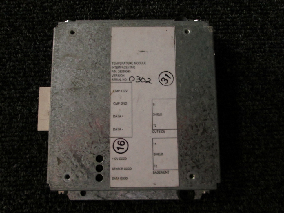 USED ALADDIN TEMPERATURE MODULE P/N 38030060 FOR SALE