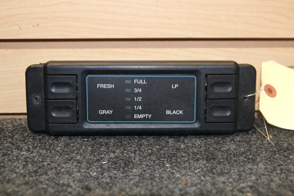 USED RV/MOTORHOME INTELLITEC LEVEL MONITOR PANEL PN: 00-00575-000