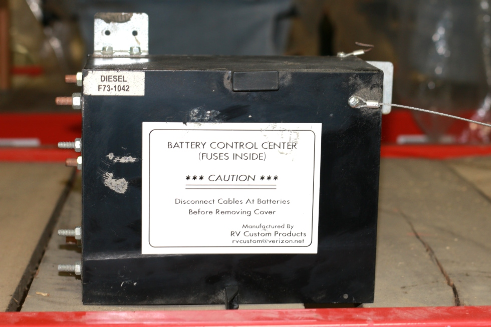 USED RV/MOTORHOME BATTERY CONTROL CENTER DIESEL PN: F73-1042