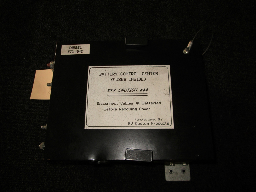 USED RV/MOTORHOME BATTERY CONTROL CENTER DIESEL PN: F73-1042  **OUT OF STOCK**