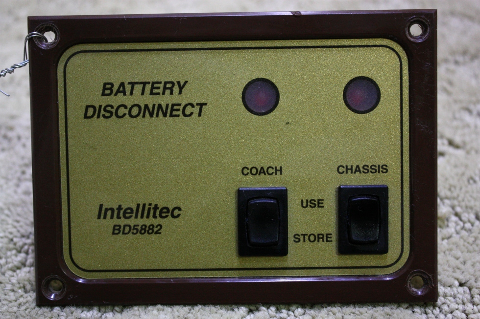 USED INTELLITEC BATTERY DISCONNECT SWITCH BD5882 FOR SALE *OUT OF STOCK*
