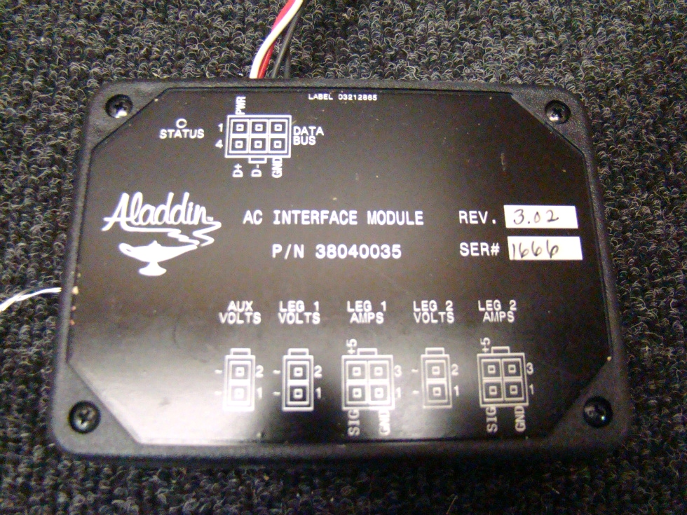 USED RV/MOTORHOME ALADDIN INTERFACE DC MODULE FOR SALE