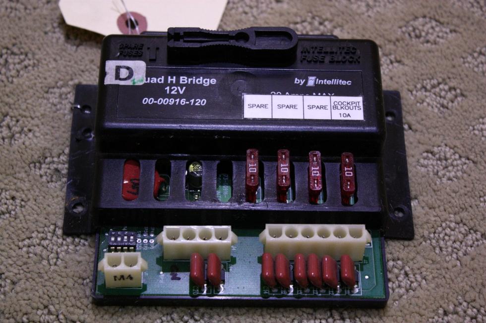 USED QUAD H BRIDGE 12V 00-00916-120 FOR SALE