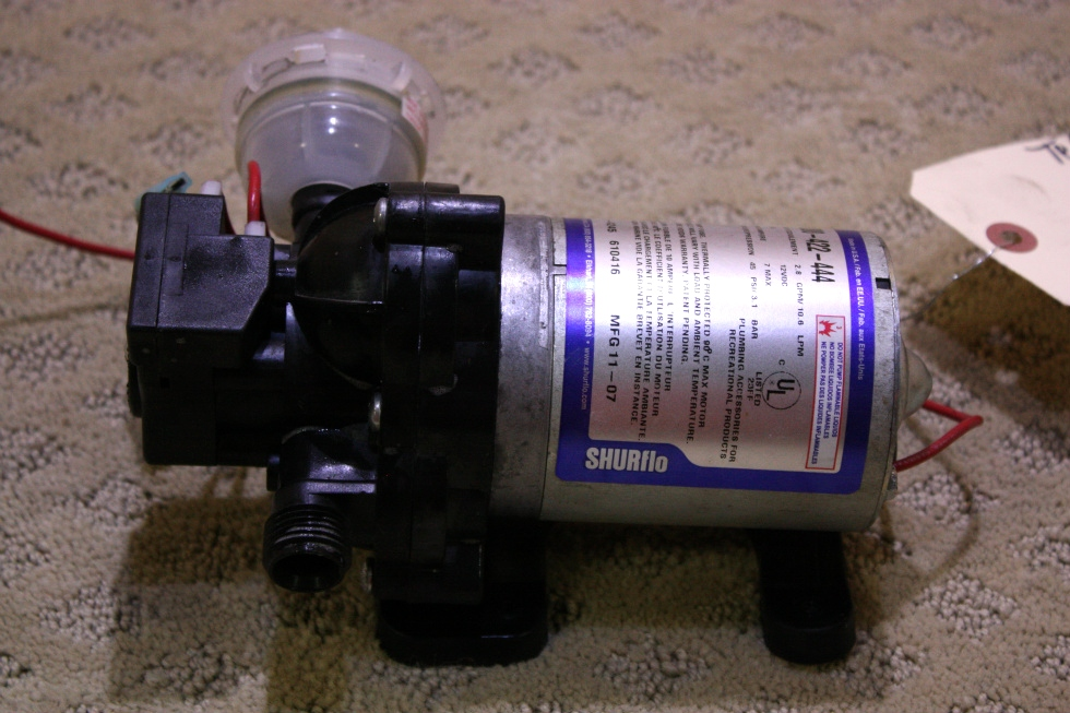 used shurflo water pump for sale out of stock