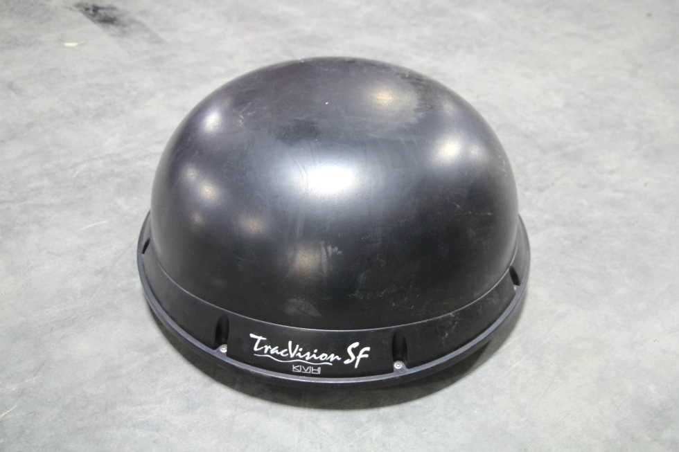 USED RV/MOTORHOME KVH TRACVISION SF SATELLITE DOME WITH CONTROLLER