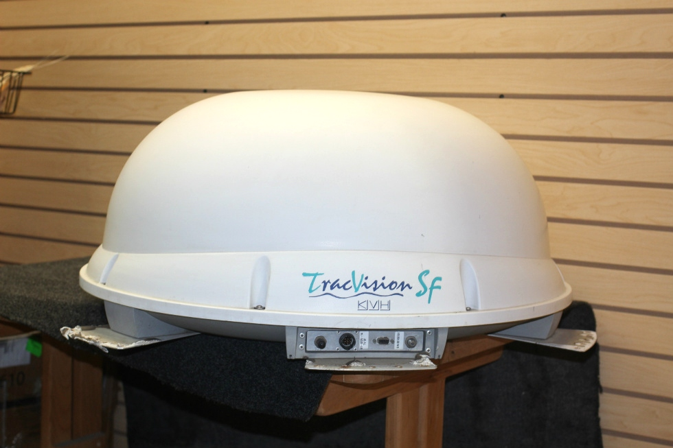 USED RV/MOTORHOME KVH WHITE SATELLITE DOME TRACVISION SF - IN MOTION