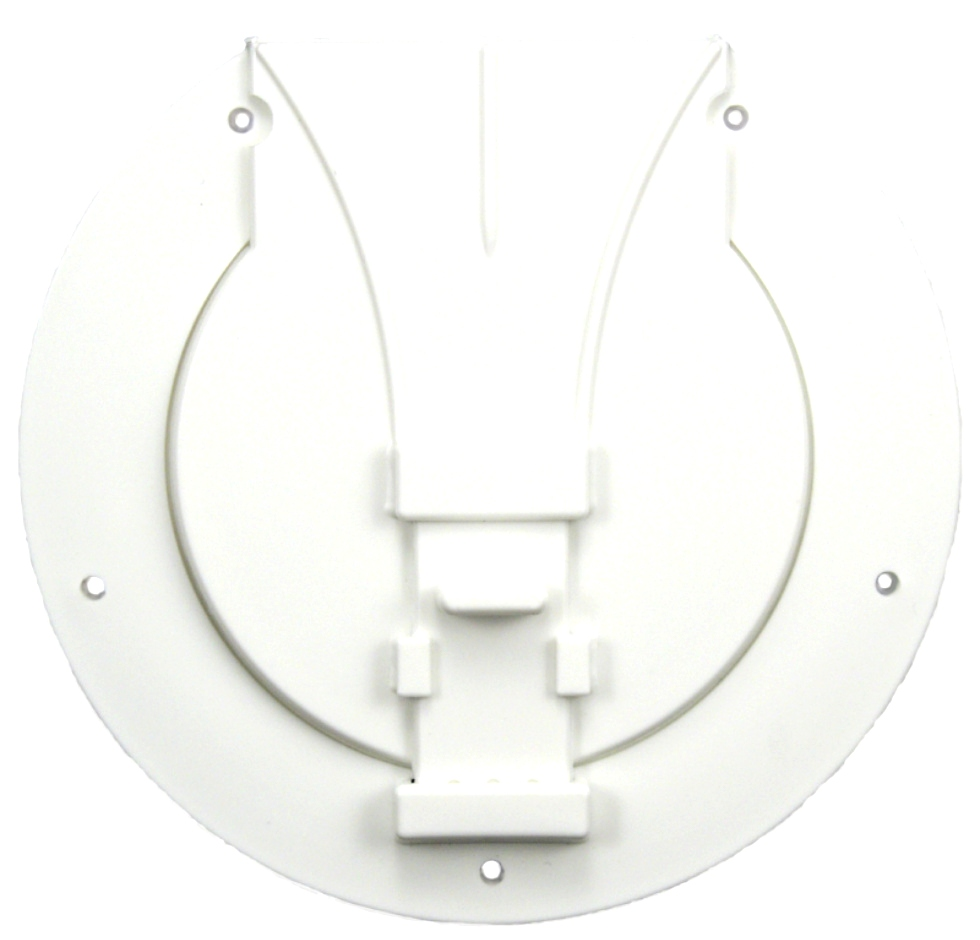 NEW JR PRODUCTS UTILITY/POLE STORAGE ACCESS HATCH POLAR WHITE P{N: S-25-10-A