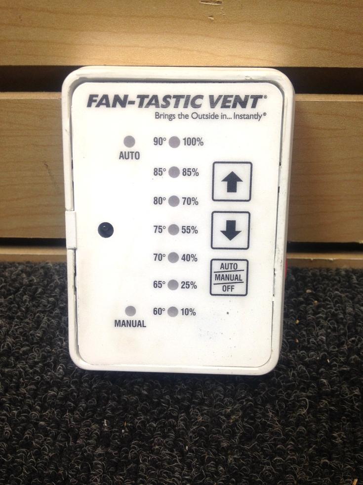 Rv Accessories Used Rv Motorhome White Fantastic Vent