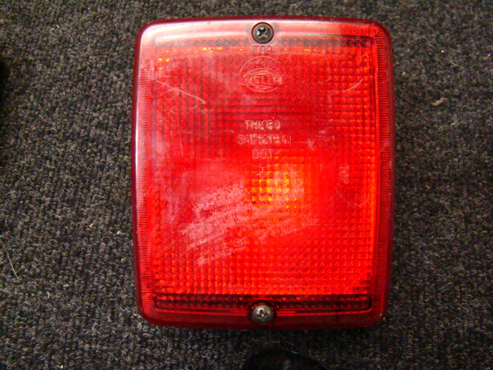 USED RV/MOTRHOME HELLA RED REFLECTOR LIGTH LAMP THK80 21W 32CP SAE 581