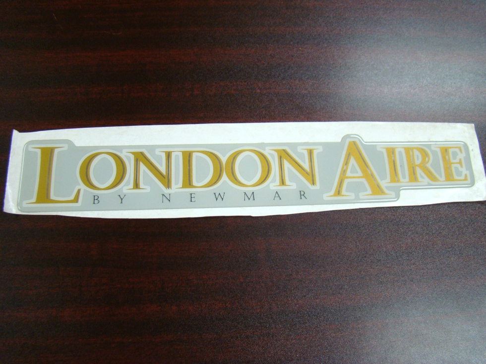 NEW RV/MOTORHOME LONDON AIRE BY NEWMAR RAISED DECAL