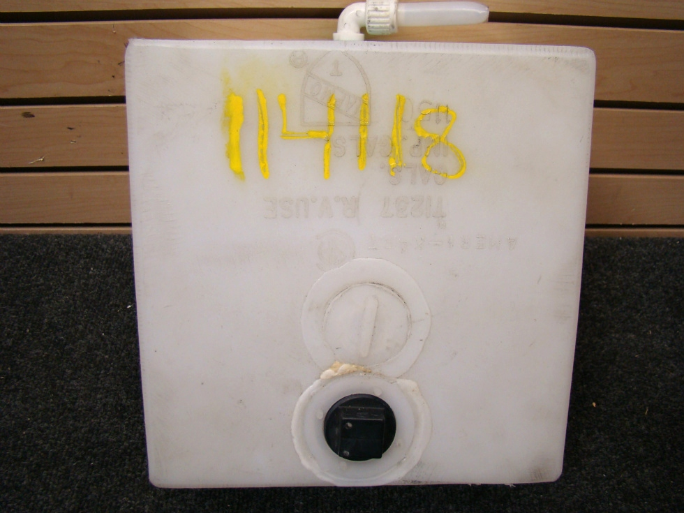 USED RV/MOTORHOME 2 GALLON RESERVOIR WATER TANK FOR SALE