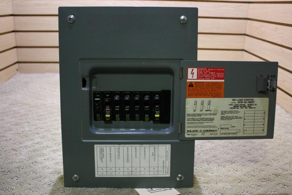 USED QO LOAD CENTER Q08-16L100DT FOR SALE