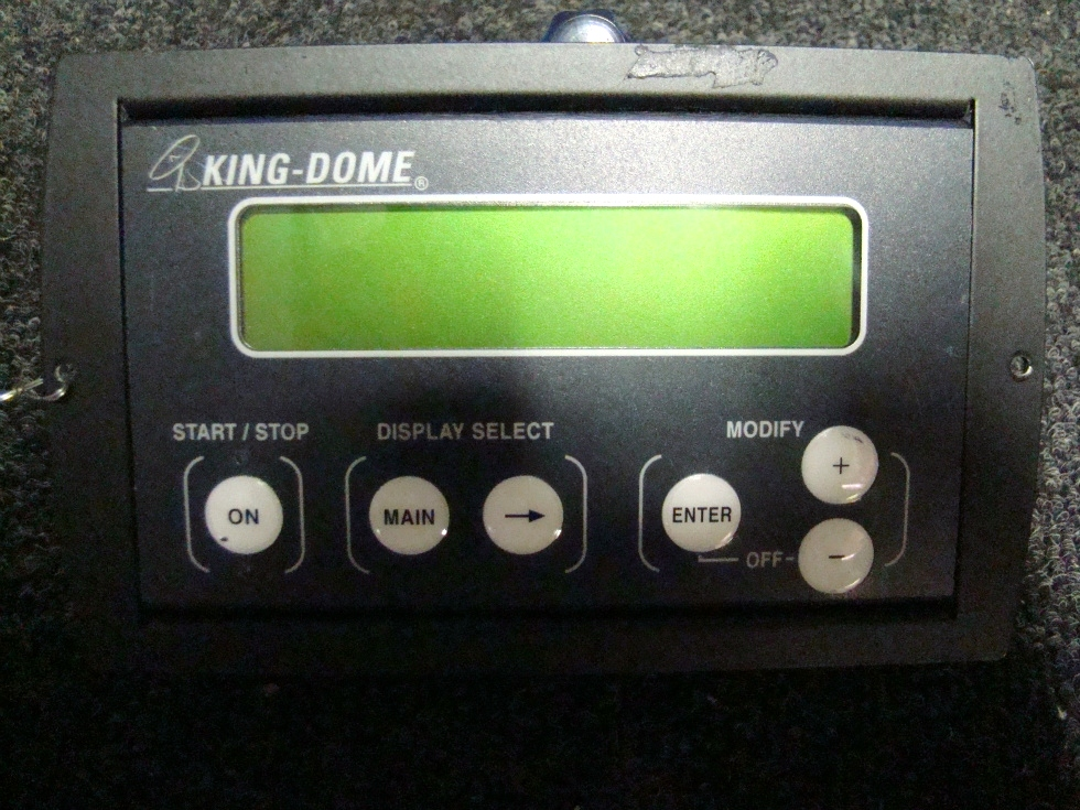 Rv Accessories Used Rv Motorhome King Dome Satellite
