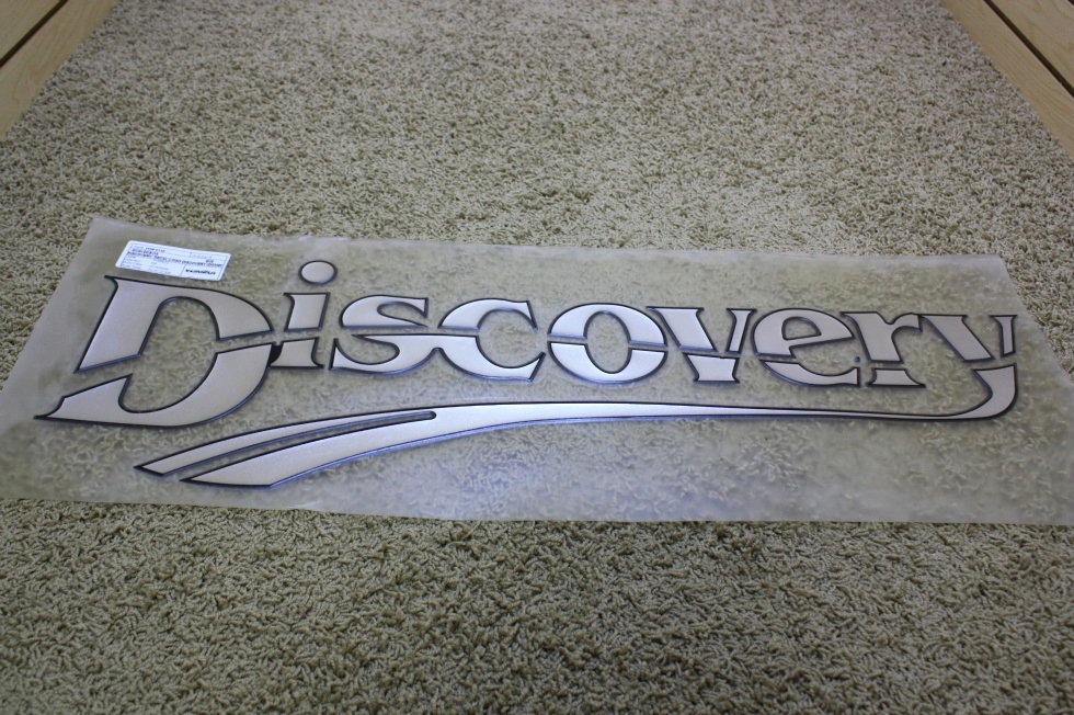NEW DISCOVERY FLAT DECAL-LOGO FOR SALE