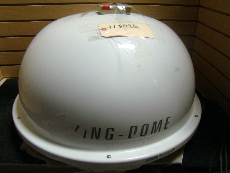 USED RV/MOTORHOME KING DOME AUTOMATIC SATELLITE DOME (WHITE)