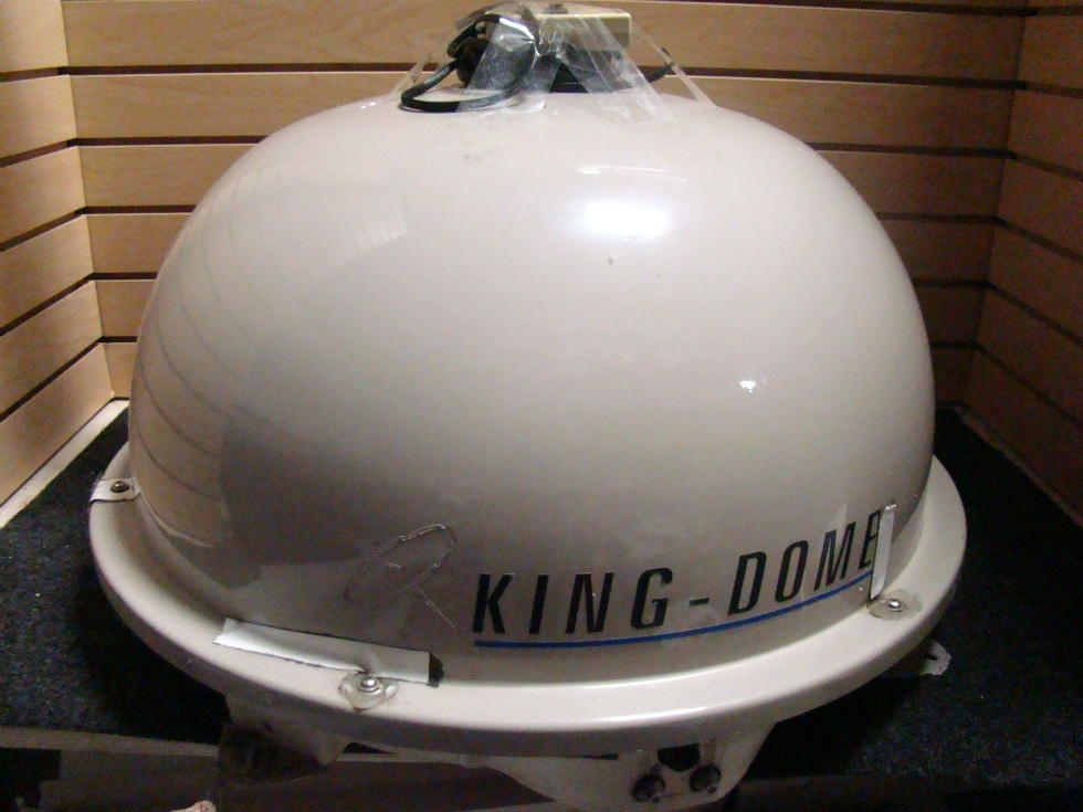 USED RV/MOTORHOME KING DOME AUTOMATIC SATELLITE DOME (TAN)