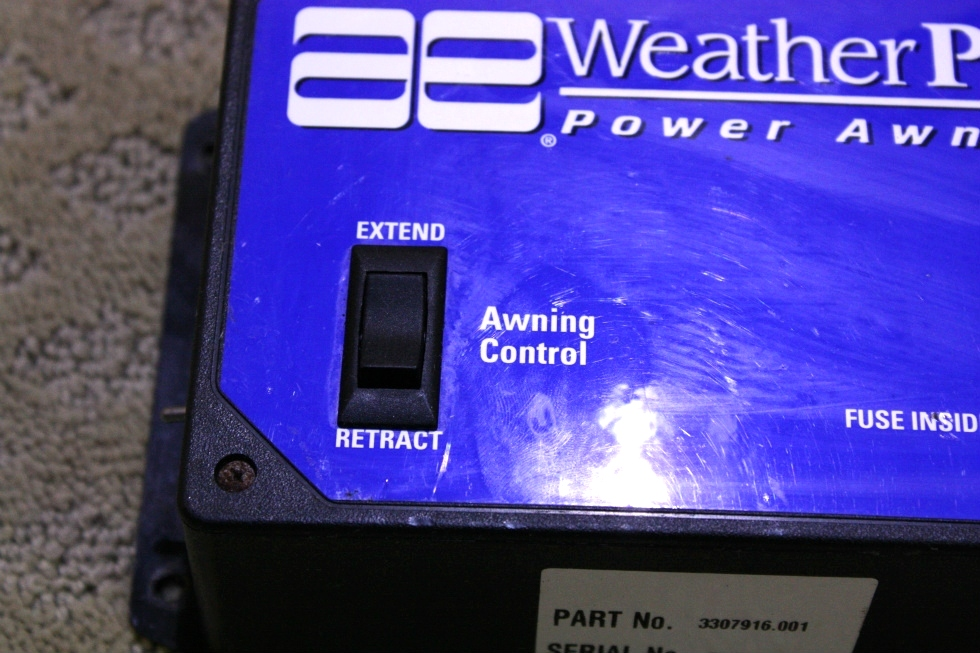 Rv Accessories Used Rv Parts Weather Pro Power Awning With