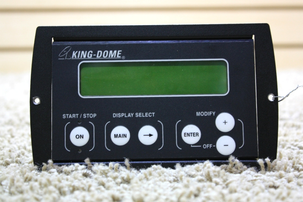 USED MOTORHOME KING DOME SATELLITE CONTROL TOUCH PAD FOR SALE