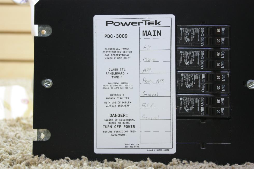 12 volt rv wiring diagram rv accessories used motorhome powertek 12 volt fuse panel ... #8