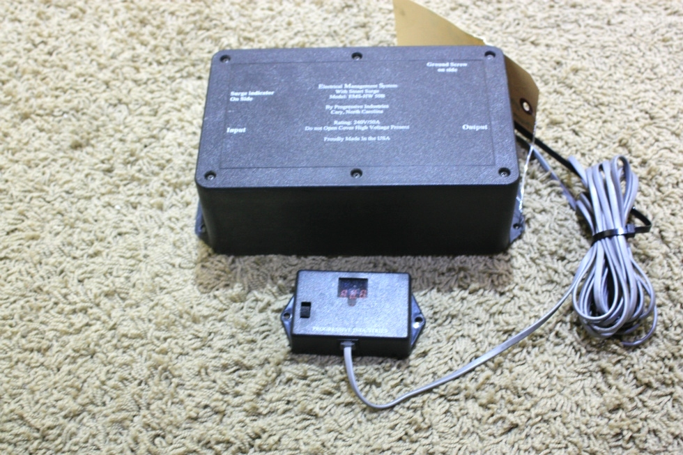 USED RV ELECTRICAL MANAGEMENT SYSTEM WITH SMART SURGE EMS-HW-50B FOR SALE