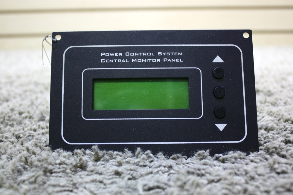 USED POWER CONTROL SYSTEM CENTRAL MONITOR PANEL 00-10019-000 RV PARTS FOR SALE