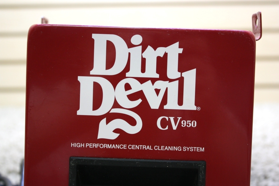 USED RV DIRT DEVIL CV950 HIGH PERFORMANCE CENTRAL CLEANING SYSTEM FOR SALE